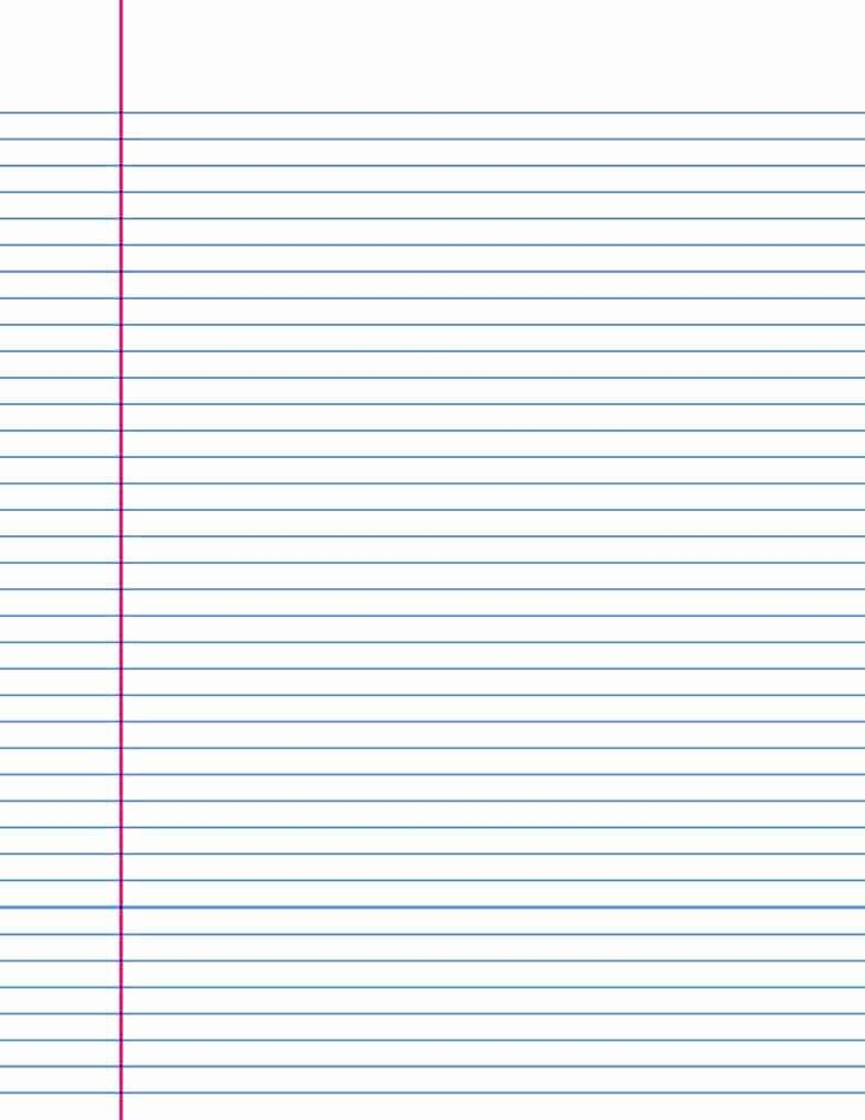 Lined Paper College Ruled Lovely 14 Lined Paper Templates Excel Pdf formats