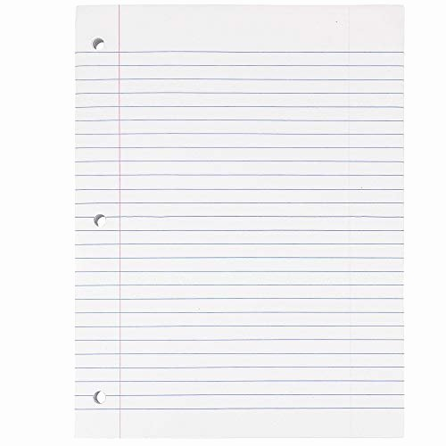 Lined Paper College Ruled New White Lined Paper Amazon