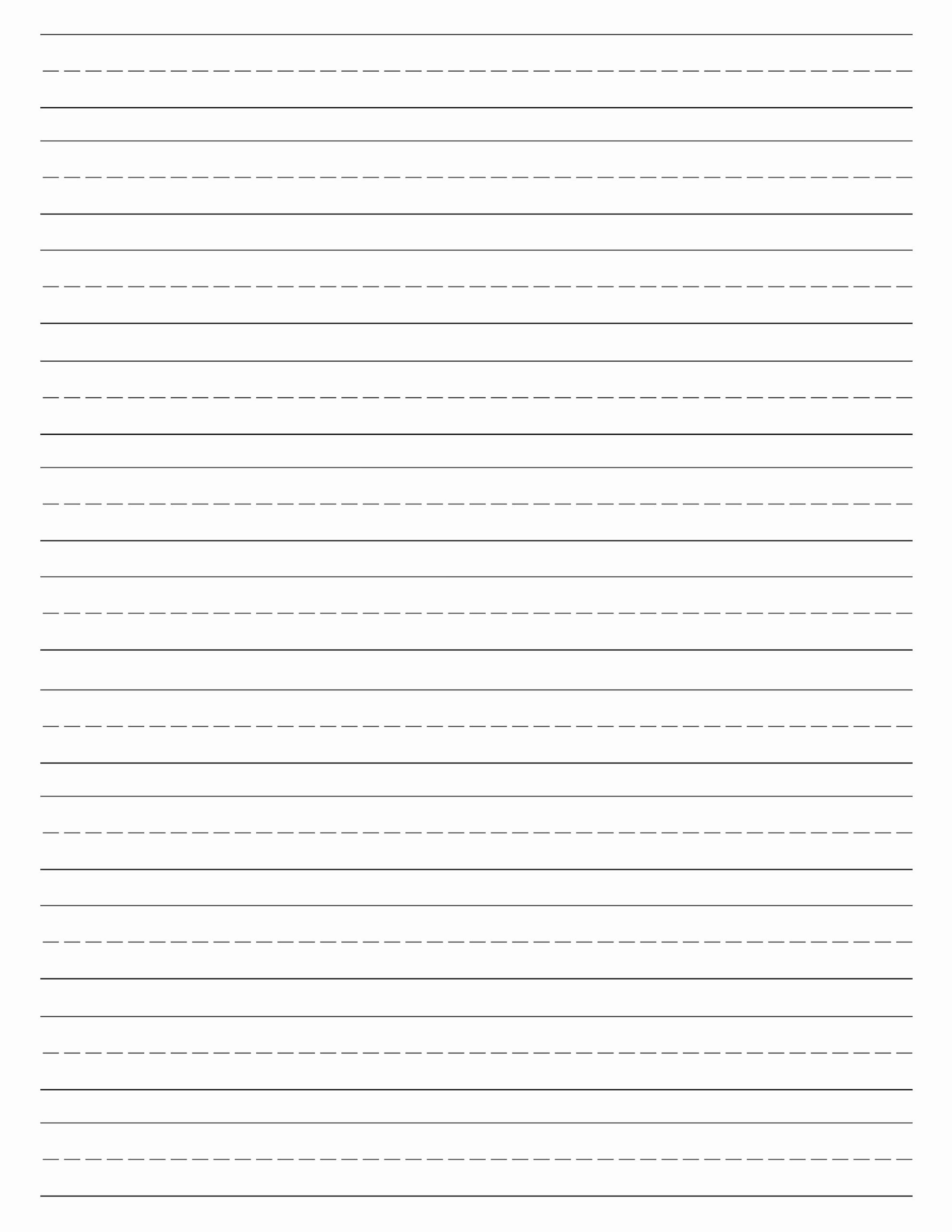 Lined Writing Paper Awesome Free Printable Lined Paper Handwriting Paper Template