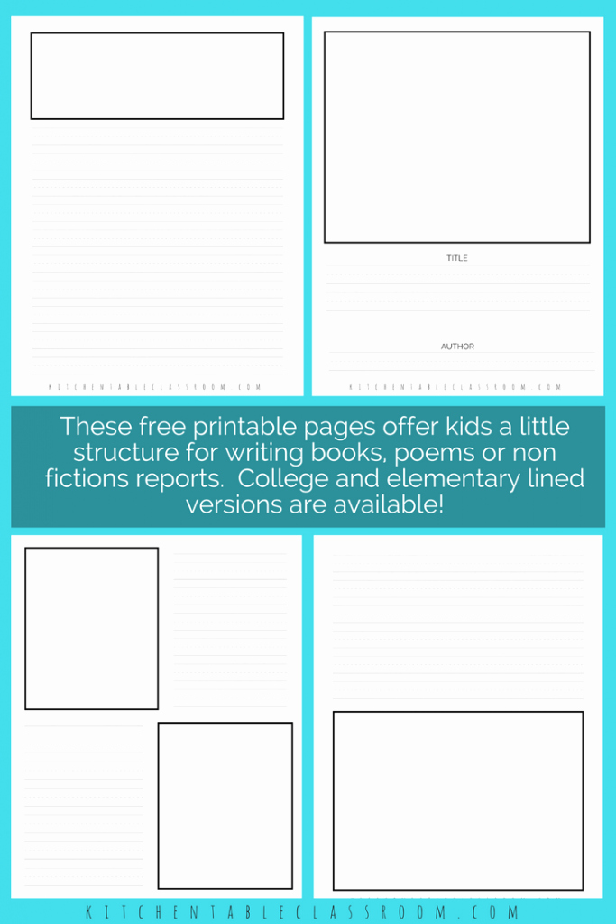 Lined Writing Paper for Kids Awesome Printable Writing Paper for Kids Twenty Versions Of Lined
