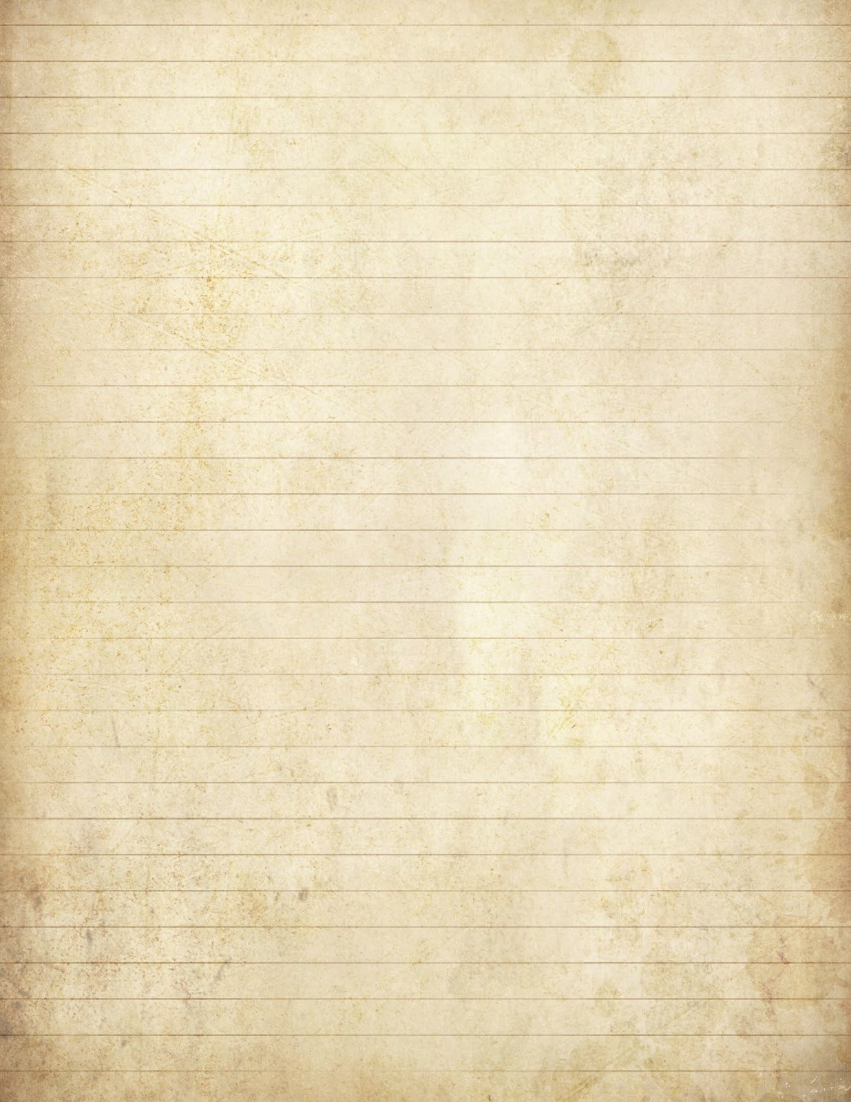 """Lined Writing Paper Fresh Lilac & Lavender """"antiqued"""" Lined Paper & Stationery"""