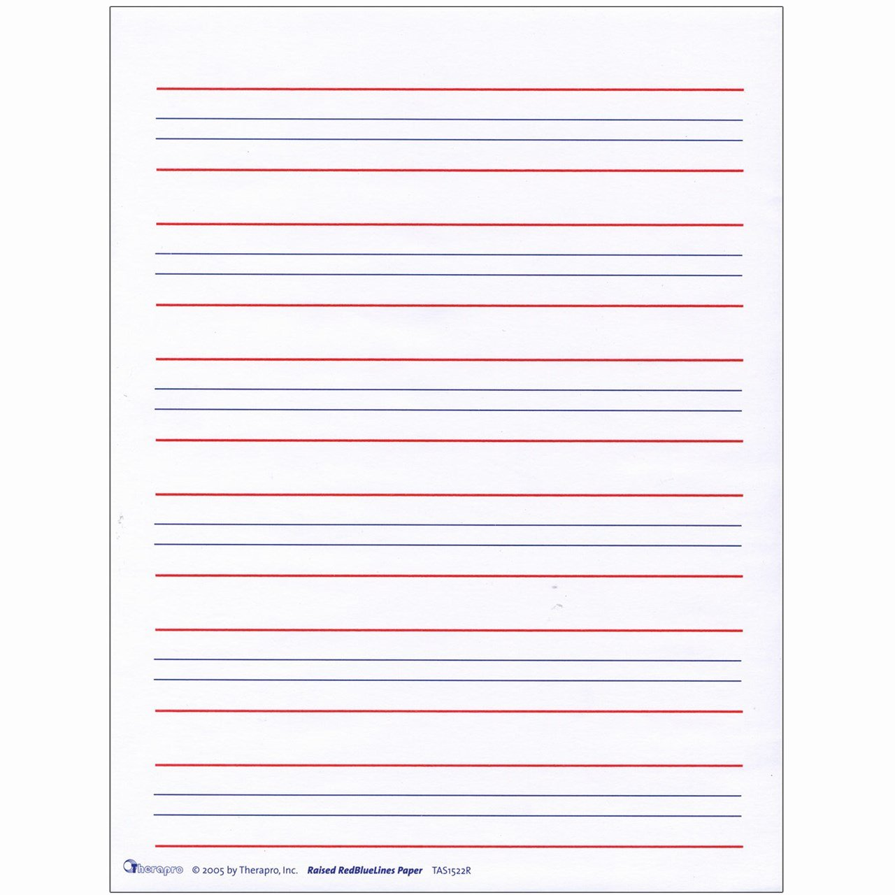 Lined Writing Paper Inspirational Maxiaids
