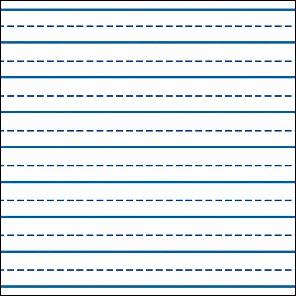 Lined Writing Paper Template Inspirational Writing Lines for Kindergarten