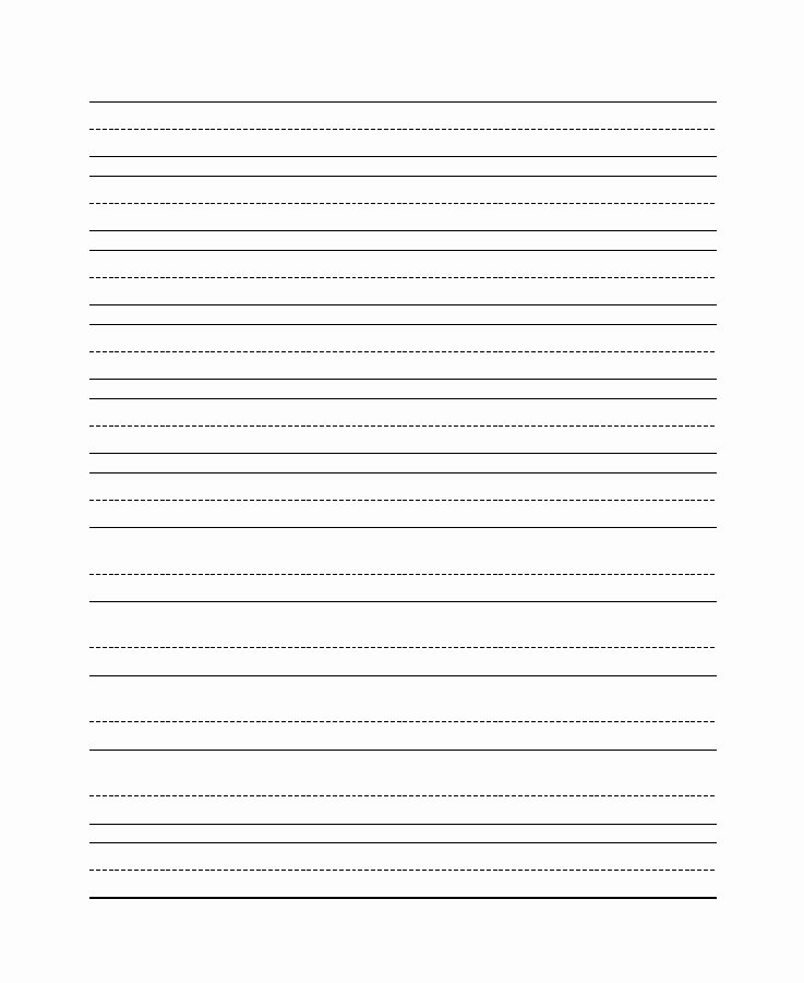Lined Writing Paper Template Luxury 32 Printable Lined Paper Templates Template Lab