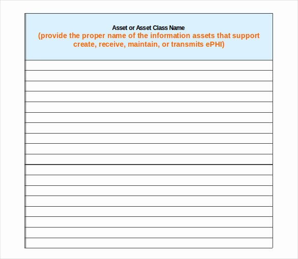List Of Personal assets Beautiful 15 asset Inventory Templates – Free Sample Example