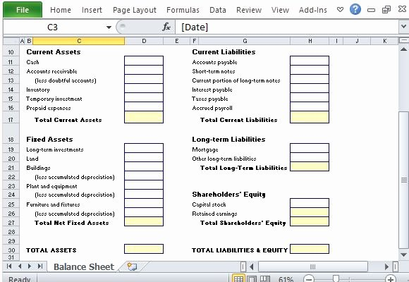List Of Personal assets Inspirational Simple Balance Sheet Maker Template for Excel