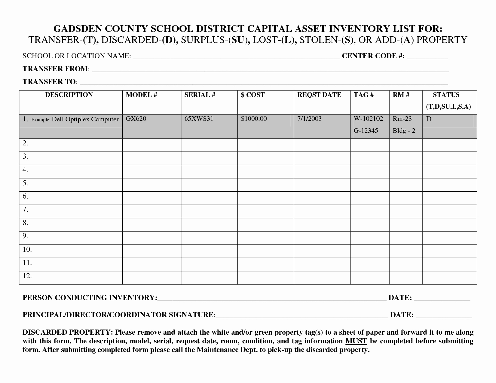 List Of Personal assets New 26 Of Fixed asset List Template