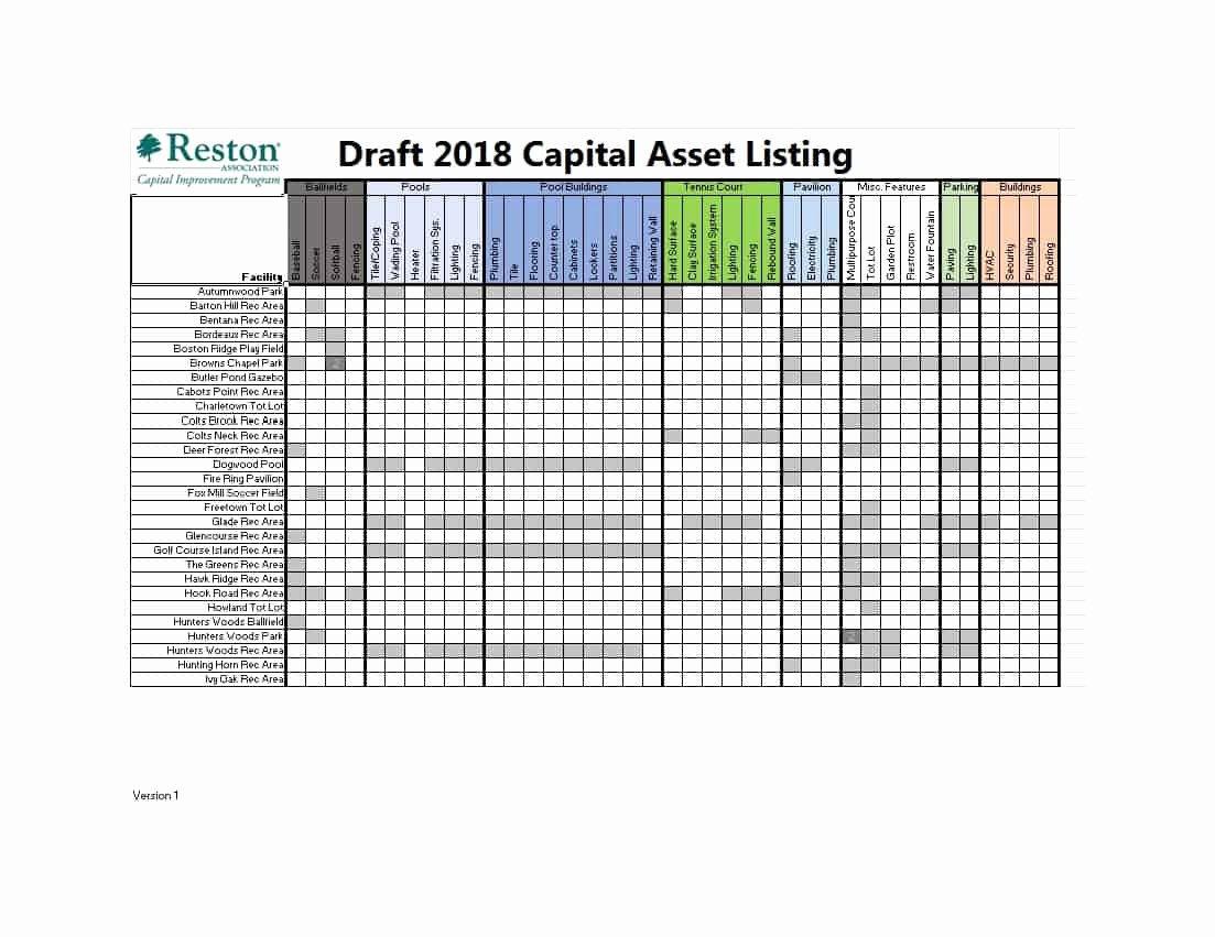 List Of Personal assets Unique 48 Useful asset List Templates Personal Business Etc