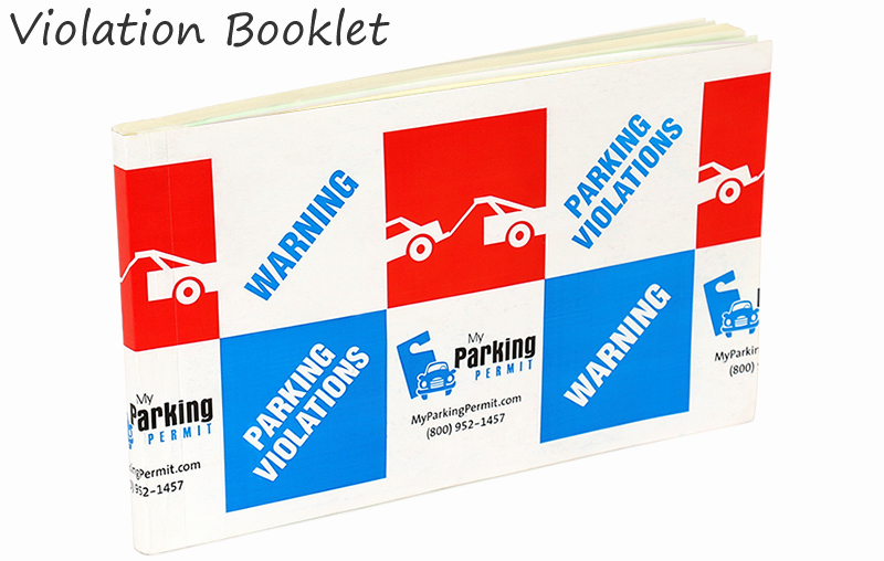 Log Book Violation Warning Letter Lovely 5 In X 8 In Removable Parking Violation Stickers Warning