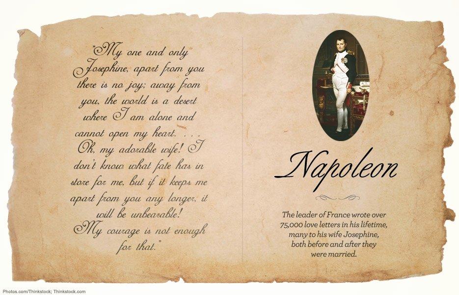 Love Letter by Great Men Elegant Famous Historical Love Letters Flashscrap