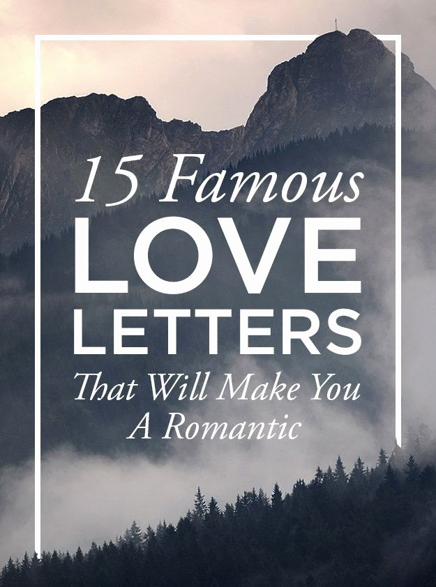Love Letter by Great Men Unique 15 Famous Love Letters that Will Make You A Romantic