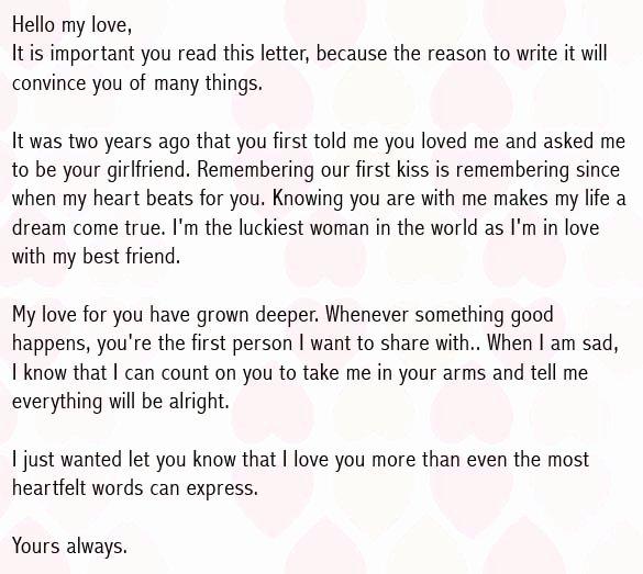 Love Letter to My Boyfriend Elegant Love Letters for Boyfriend Romantic Love Letter for Him