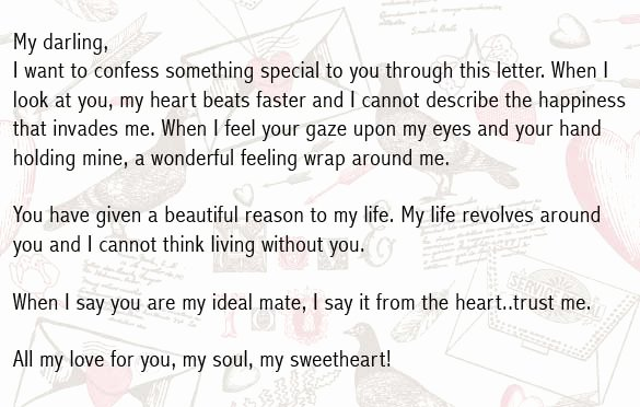Love Letter to My Boyfriend New Love Letters for Boyfriend Romantic Love Letter for Him
