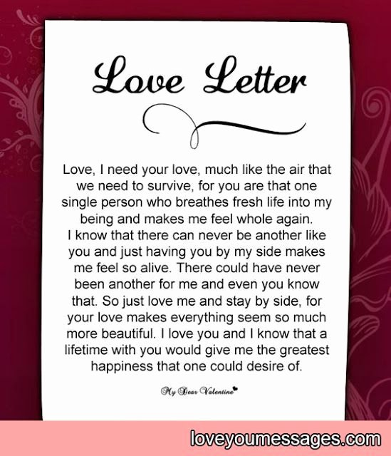 Love Letter to Wife Lovely 12 Best Love Letters Images On Pinterest