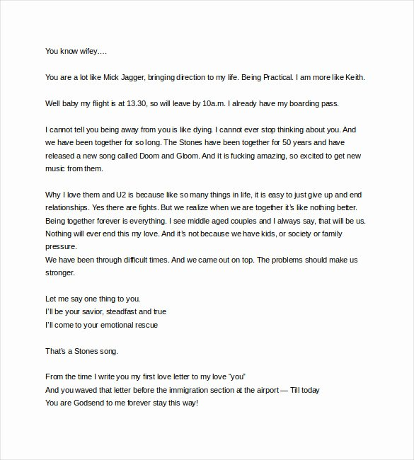 Love Letter to Wife New 7 Love Letter to My Wife Doc Pdf