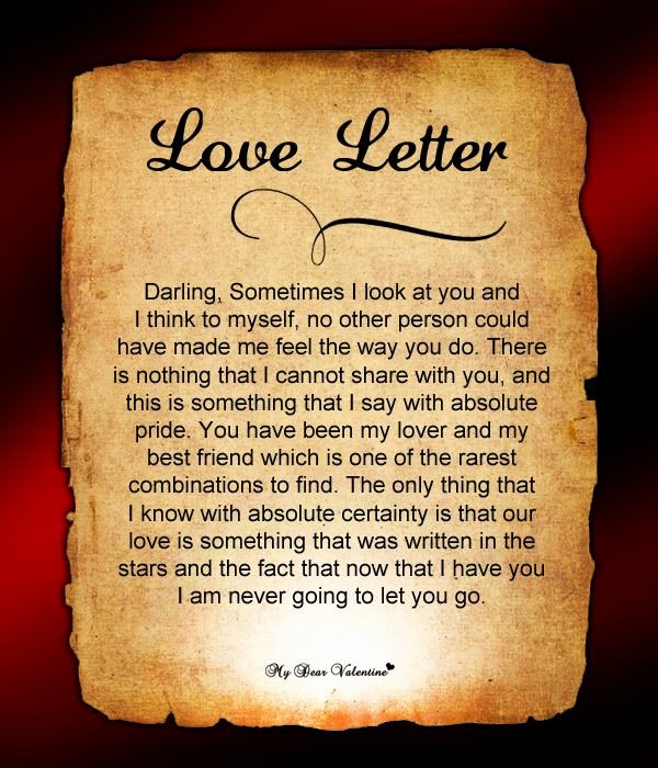 Love Letters to Him Beautiful Love Letter for Him 62 Love Letters for Him