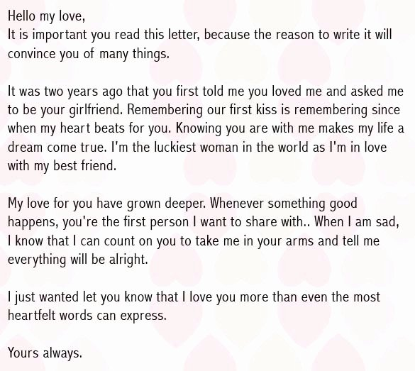 Love Letters to Him Fresh Love Letters for Boyfriend Romantic Love Letter for Him