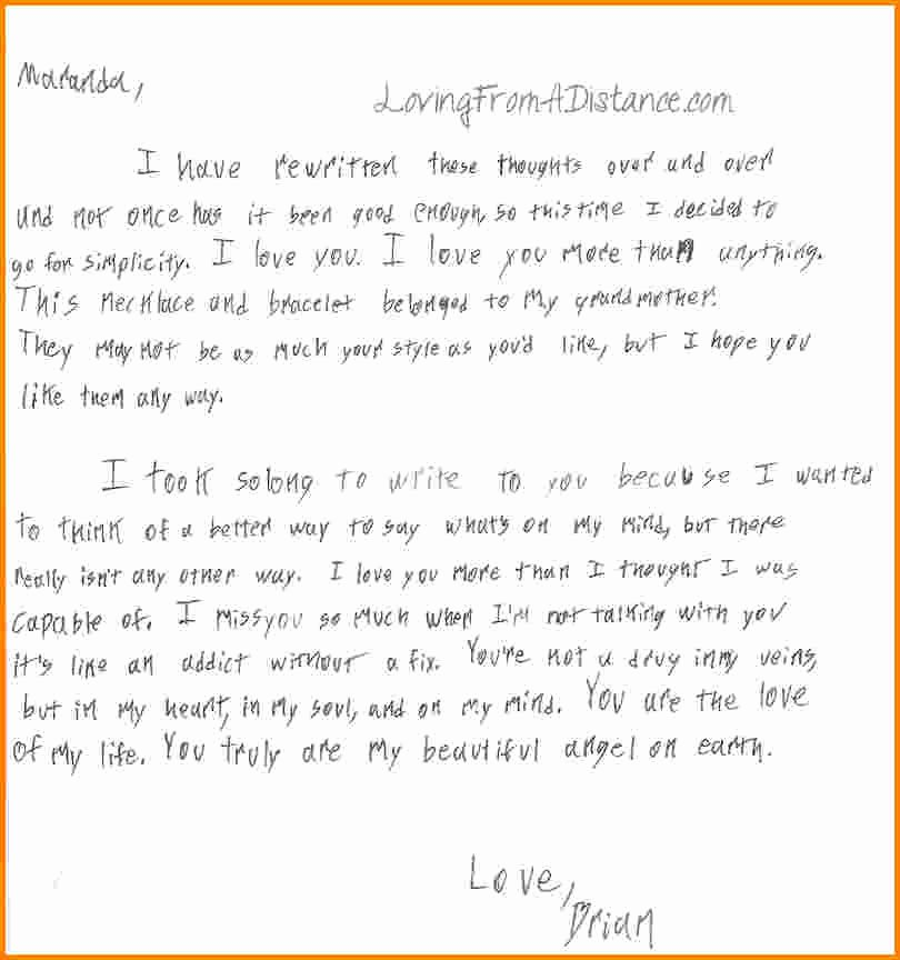 Love Letters to Him Inspirational Letters to Him About Love
