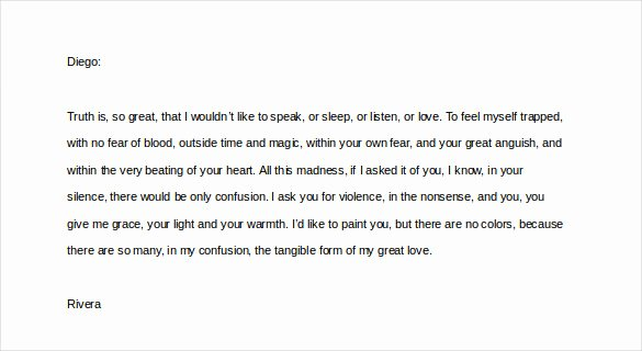 Love Letters to Him Inspirational Love Letters for Him – 25 Free Word Pdf Documents