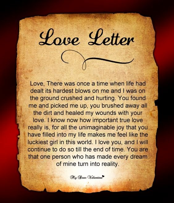 Love Letters to Him Inspirational Love Letters for Him Letter for Him and Love Letters On