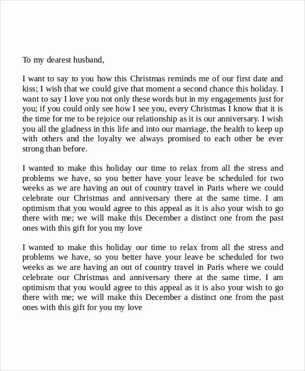 Love Letters to Your Husband Awesome Sample Love Letters to My Husband 7 Examples In Word Pdf