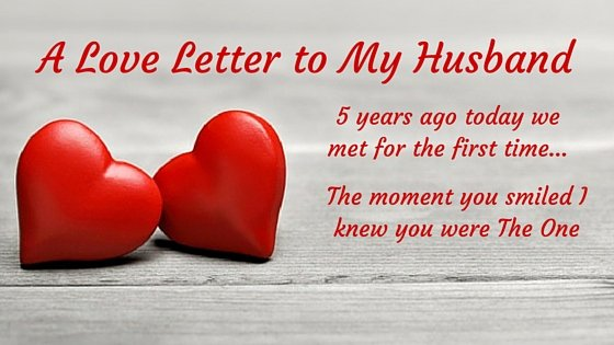Love Letters to Your Husband Beautiful Love Letter My Husband