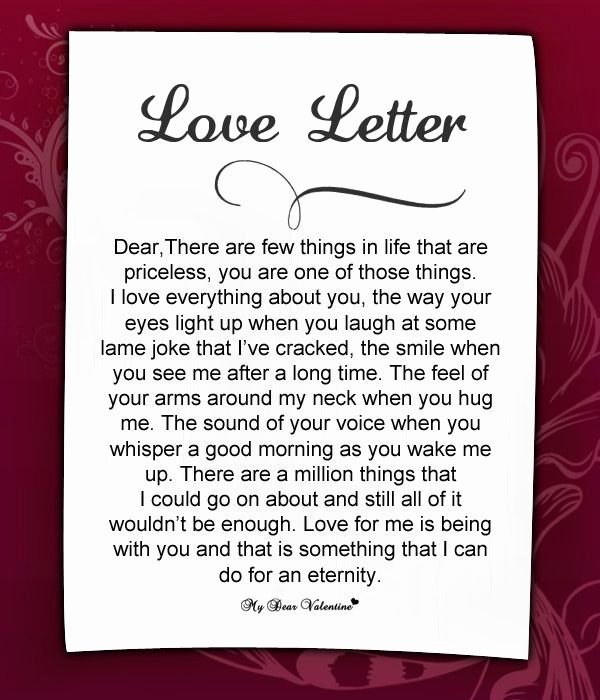 Love Letters Your Boyfriend Best Of Love Letters for Her 11 Love Letters for Her