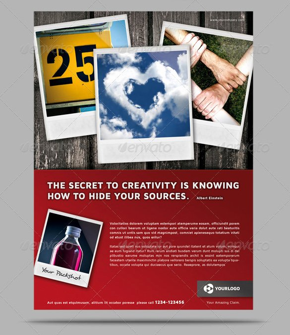 Magazine Ad Template Free Awesome 11 Converting Magazine Ad Templates