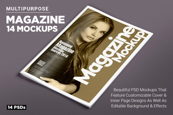 Magazine Ad Template Free Awesome Magazine Cover Psd Templates 54 Free Psd Ai Vector