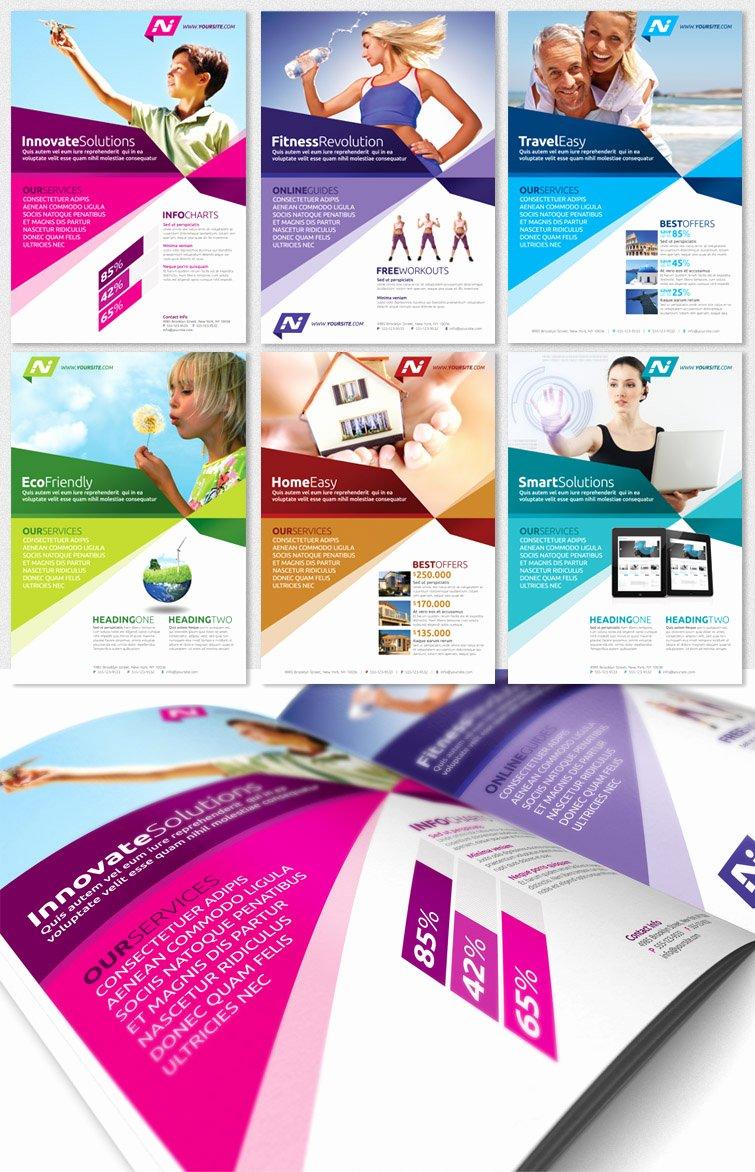 Magazine Ad Template Free Beautiful Multipurpose Business Flyer Template Magazine Ad