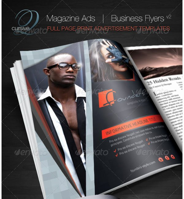 Magazine Ad Template Free New 33 Hd Print Ad Templates Free Psd Vector Eps Png