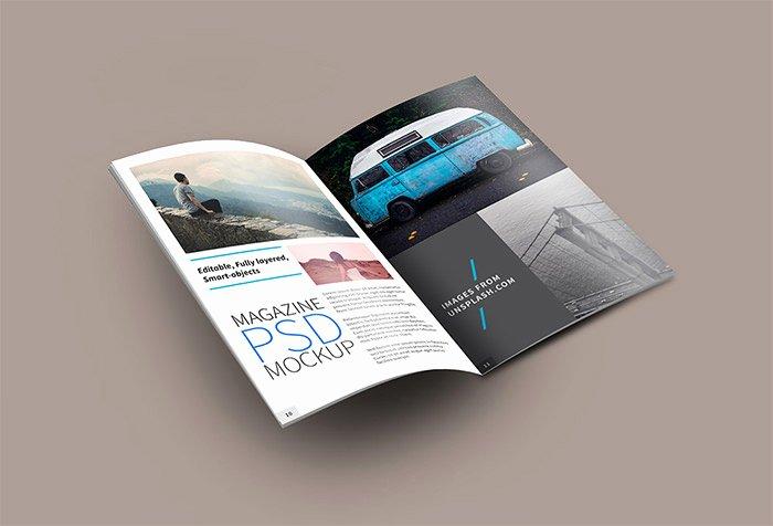 Magazine Ad Template Free New 40 Creative Magazine Psd Mockups to Download Hongkiat