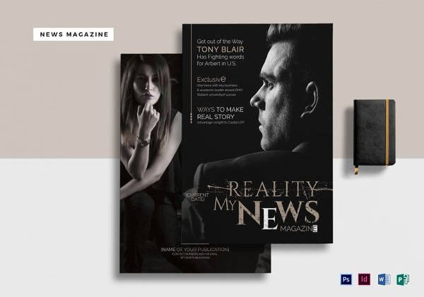 Magazine Templates for Microsoft Word Awesome 66 Brand New Magazine Template Free Word Psd Eps Ai