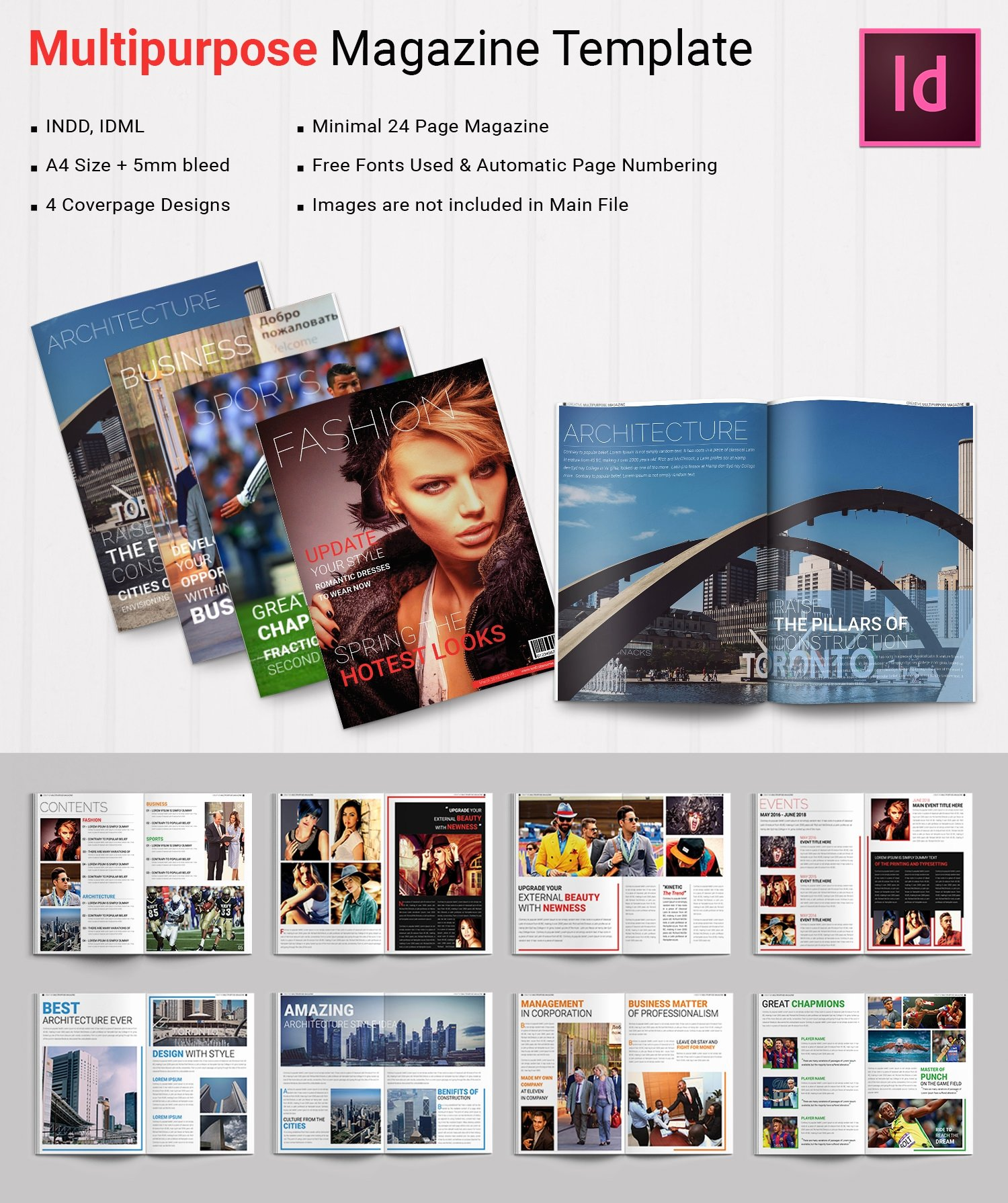 Magazine Templates for Microsoft Word Best Of 55 Brand New Magazine Templates Free Word Psd Eps Ai