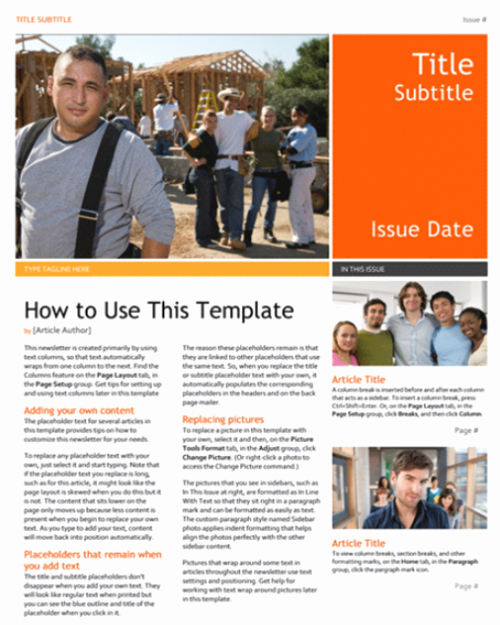 Magazine Templates for Microsoft Word Inspirational 10 Print Ready Magazine Word Templates Doc Docx