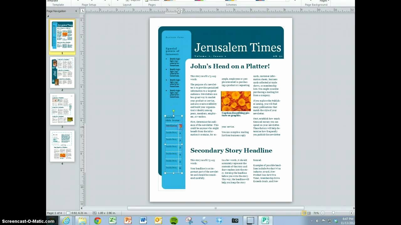 Magazine Templates for Microsoft Word New Create Your Magazine Content