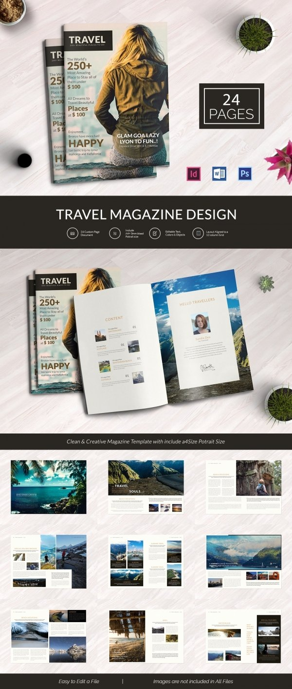 Magazine Templates for Word Inspirational 55 Brand New Magazine Templates Free Word Psd Eps Ai