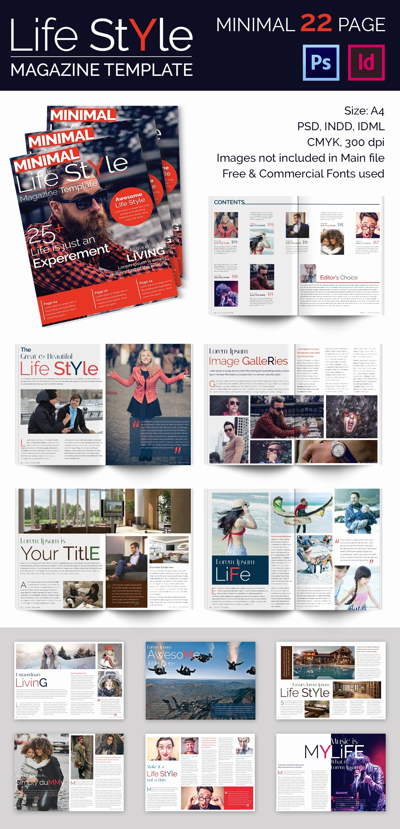 Magazine Templates for Word New 55 Brand New Magazine Templates Free Word Psd Eps Ai