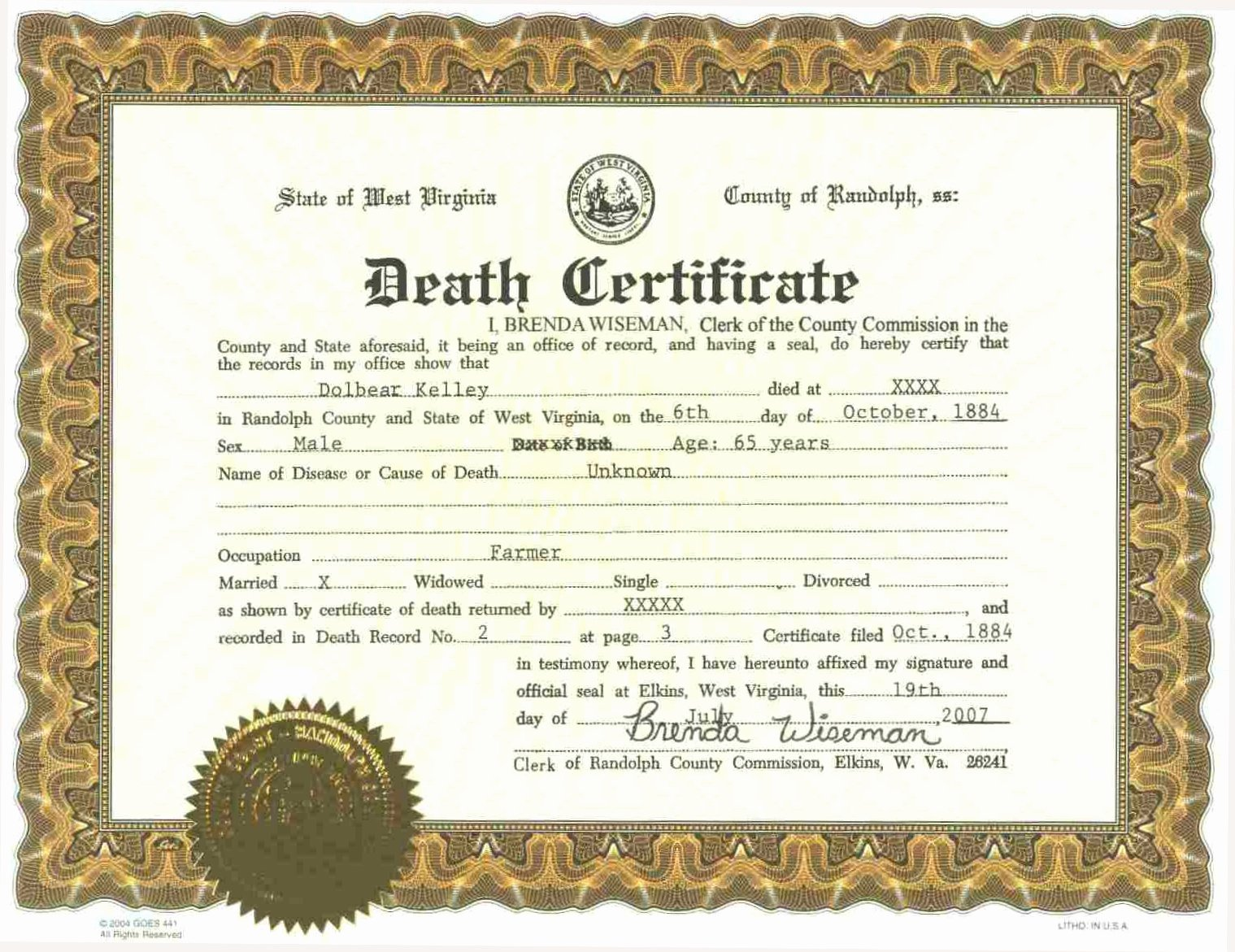 Make A Fake Death Certificate Fresh Fake Death Certificate Line Ghost Fake Id Store