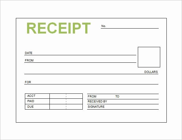 Make A Receipt In Word Fresh Receipt Template as soon as You Upload Your Template