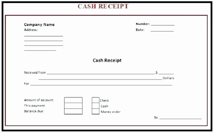 Make A Receipt In Word New Free Printable Payment Receipts Create Cash Receipt Free