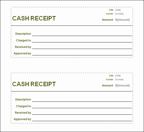 Make A Receipt In Word Unique Free Receipt Printable Template for Excel Pdf formats