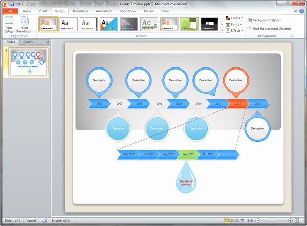 Make A Timeline In Word Lovely Timeline Templates for Powerpoint