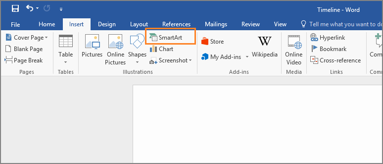 Make A Timeline In Word New How to Create A Timeline In Microsoft Word