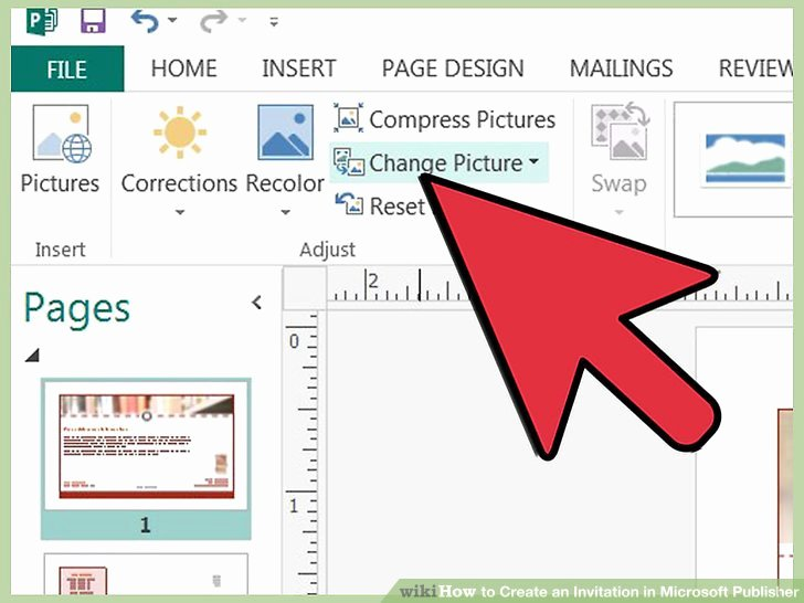 Make An Invitation In Word Awesome 3 Ways to Create An Invitation In Microsoft Publisher