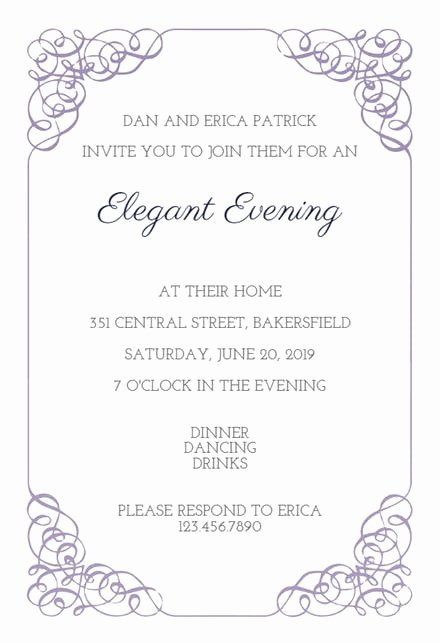 Make An Invitation In Word Awesome Invitation Templates Free