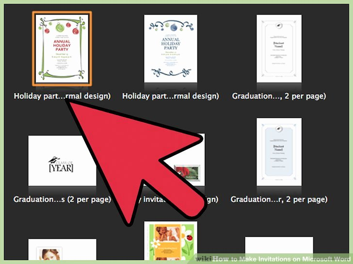 Make An Invitation In Word Inspirational How to Make Invitations On Microsoft Word 10 Steps