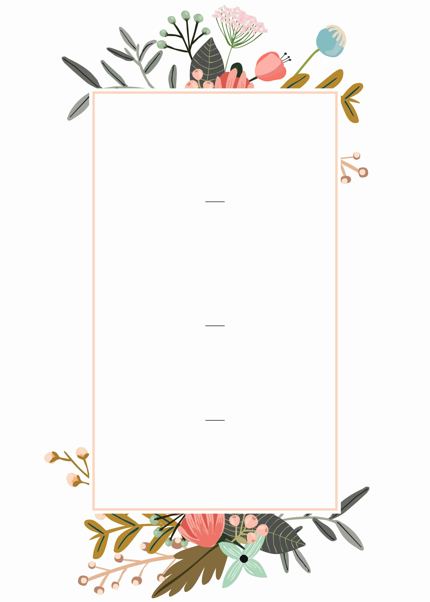 Make An Invitation In Word Lovely Editable Wedding Invitation Templates for the Perfect Card