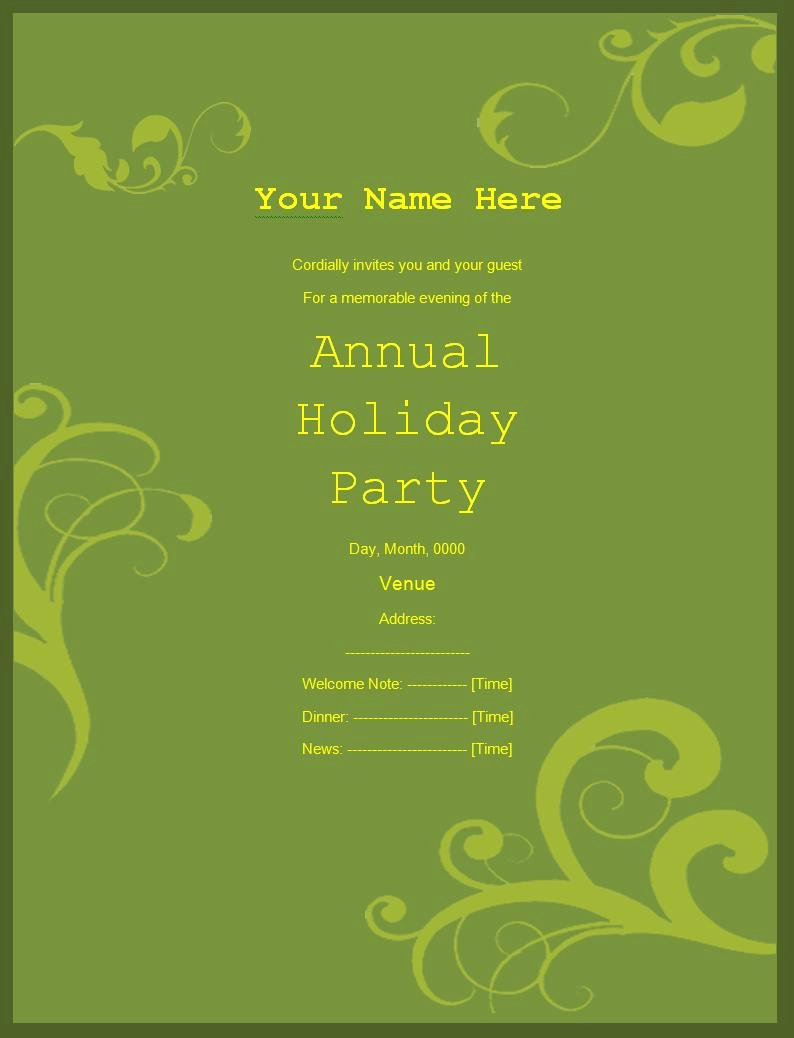 Make An Invitation In Word Luxury Invitation Templates