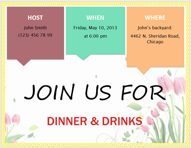 Make An Invitation In Word New 13 Free Templates for Creating event Invitations In